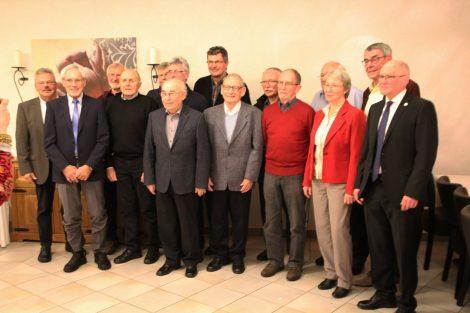 Neujahrstreffen der TG 1889 Sandhausen – Langjährige Mitglieder geehrt