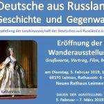"""""""Deutsche aus Russland. Geschichte und Gegenwart"""" - Ausstellung am 5. Februar"""