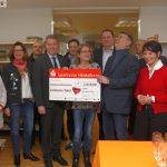 Leimen aktiv im BdS überreichte Leimener Tafel Spende über 2.019 €
