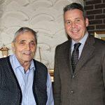 Stadt Leimen gratulierte ihrem Ehrenbürger Bruno Sauerzapf zum 75. Geburtstag