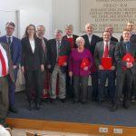 SPD Sandhausen ehrte langjährige Mitglieder – Martin Hambrecht schon 60 Jahre dabei