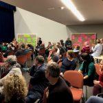 Rege Diskussion mit über 70 Teilnehmern bei der Gauangellocher Zukunftswerkstatt