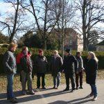 Grüne Kreistagsfraktion informiert sich im Psychiatrische Zentrum in Wiesloch
