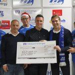 "Fan-Club ""Supporters Nußloch"" spendet 1.300 € an Nußlocher Hilfsfonds"