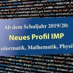 """Friedrich-Ebert-Gymnasium Sandhausen: Neues Profil """"IMP"""" - Informatik, Mathe, Physik"""