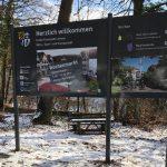 Konni begrüßt Leimens Besucher – Neue Ortseingangstafeln stehen