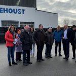 CDU Leimen besuchte Firma Dehoust -</br>Seit 1958 mit Stammsitz in Leimen