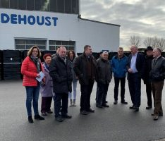 CDU Leimen besuchte Firma Dehoust –</br>Seit 1958 mit Stammsitz in Leimen
