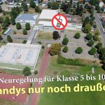 Fr.-Ebert-Gymnasium: Neue Handyregelung und ihre Folgen - mehr frische Luft