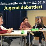 Zum 2. Mal: Jugend debattierte am Friedrich-Ebert-Gymnasium