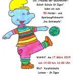 """Jubiläum: 50. Flohmarkt """"Schlümpfe"""" am 17. März in der Kurpfalzhalle"""