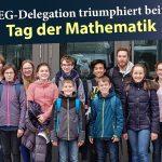 Sensationserfolg beim Tag der Mathematik für das Sandhäuser Friedrich-Ebert-Gymnasium