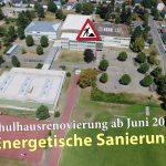Sanierung des Friedrich-Ebert-Schulzentrums in Sandhausen - Dauer über 2 Jahre