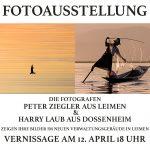 Fotoausstellung im Leimener Neuem Rathaus - Vernissage am 12. April