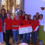 Sparkasse unterstützt Leimener Q21 Mittagstisch-Projekt mit 500 € Spende