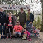 """Pink war beautiful"" beim Flamingolauf 2019 im Heidelberger Zoo"