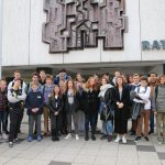 Französische Schüler/innen aus Lège-Cap-Ferret und Andernos im Sandhäuser Rathaus