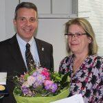 Sabine Kuhn mit Leimener Stadtmedaille in Gold ausgezeichnet