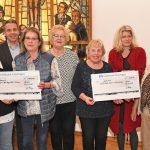 Frauenkreis Mittlere Generation der Ev. Kirchengemeinde Leimen spendete 1.500 €