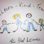Eltern-Kind-Tennis beim TC Blau-Weiß Leimen