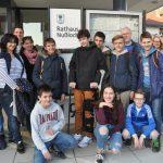 Schüleraustausch zwischen Nußloch und Andernos mit Rathausbesuch