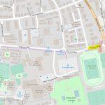 Leimen: Sperrung der Einfahrt in die Tinqueux-Allee nähe Stadion