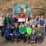 Sparkasse Heidelberg unterstützt  Waldwelt e.V. Leimen mit Spende von 750 €