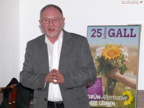 Stadtrat und Troubadour Michael Reinig feiert heute seinen 65.Geburtstag