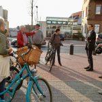 Verkehr(t) in Sandhausen: Radtour der Alternativen Liste mit MdL Katzenstein
