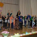 Pestalozzi-Kindergarten mit tollem Auftritt auf dem Leimener Seniorenfrühling
