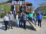Spielplatztour der CDU Sandhausen – </br>Lob für gute Ausstattung und Pflege