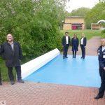 Leimener Freibad mit 150.000 € Investitionen optimal auf neue Saison ab 18. Mai vorbereitet
