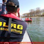 Boots- und Revierkunde der DLRG Leimen auf dem Rhein