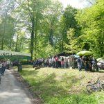 Die Hirschgrundhütte wurde zur Pilgerstätte - Tolle 1. Mai-Veranstaltung mitten im Wald