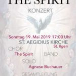 "Konzert von ""The Spirit"" am 19. Mai"
