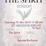 """Konzert von """"The Spirit"""" am 19. Mai"""