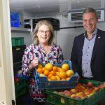 Wunsch erfüllt: Leimener Tafelladen erhält durch Spenden finanziertes Kühlhaus