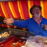 Wochenmarkt auf dem Georgi-Marktplatz: Beliebter Tummelplatz für Wahlkämpfer