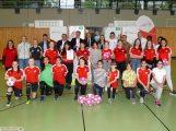 """Mädchenfußball AG der Realschule Leimen zum """"AOK Treff FußballGirls"""" aufgewertet"""