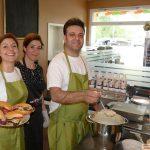 Kurpfalz-Centrum mit neuer Bäckerei und kleinem Cafe - Waffeln und Salate