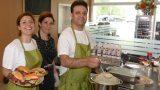 Kurpfalz-Centrum mit neuer Bäckerei und kleinem Cafe – Waffeln und Salate