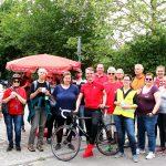 Gemeinsame Rote Radtour der regionalen SPD Ortsverbände mit MdB Lars Castellucci