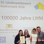 Friedrich-Eber-Gymnasium beim Landeswettbewerb Mathematik erfolgreich