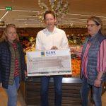 Leimener Tafel erhält 355,- € Spende aus EDEKA Tüten-Spendenaktion