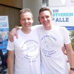Vielseitiger Rad-Aktionstag: Beim Promi-Race traten die Rathauschefs kräftig in die Pedale