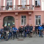 Mit  OB Reinwald per Fahrrad auf Radweg-Inspektionstour in und um Leimen