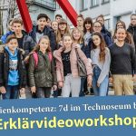 Fr.-Ebert-Gymnasium nahm am Erklärvideo-Workshop am Technoseum teil