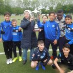 Titel-Trilogie: Otto-Graf-Realschule gewinnt Schul-Soccer-Cup zum 3.  Mal in Folge