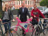 Rechtzeitig zum Stadtradeln: Die neuen Dienstfahrräder der Stadt Leimen sind da