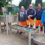 Nußlocher Spielplatz Hühnerhof: </br>Neue Matschspielgerät in Betrieb genommen